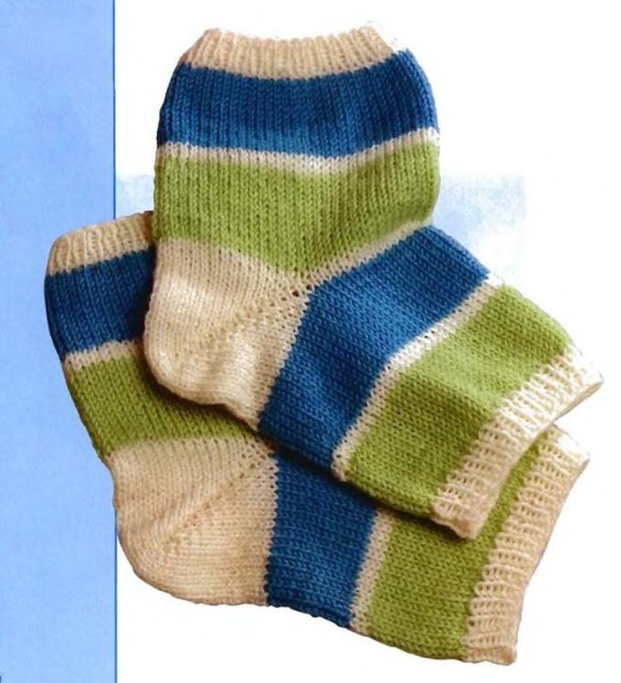 Вязать носки начиная с носка