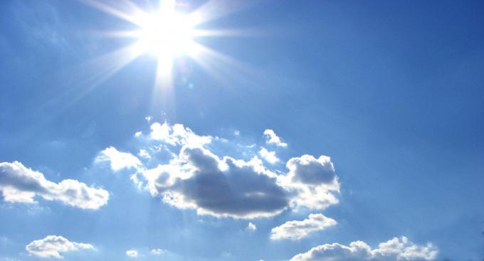 Небо в интерьере расширяет пространство