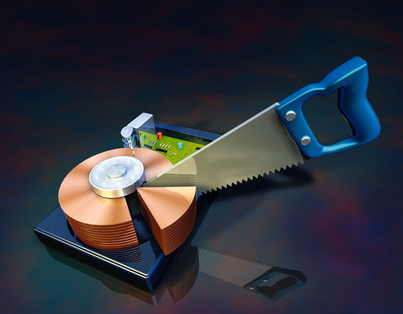 Как разделить локальный диск на два