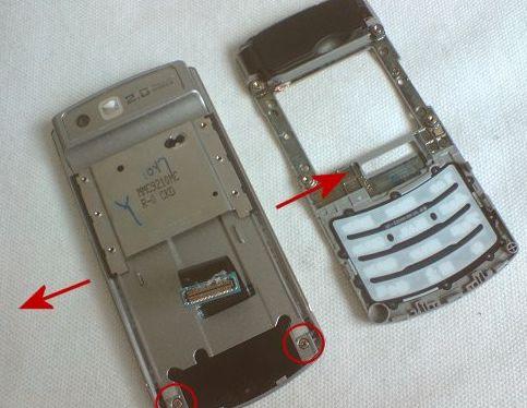 Как разобрать Samsung