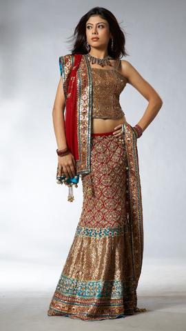 How to sew a Sari