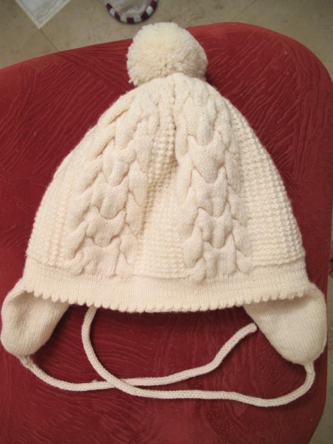 Как связать двойную шапку