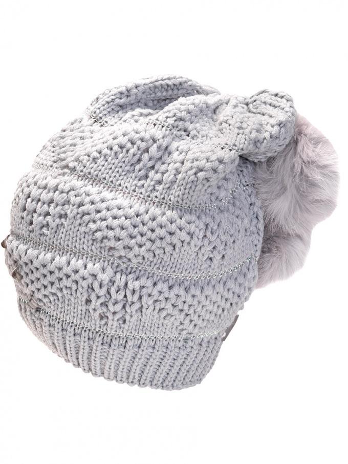 Как связать шапку-чулок спицами