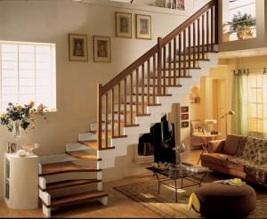Как сделать <strong>перила</strong> на <b>лестнице</b>