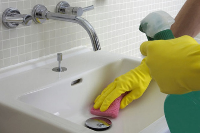 Take care of clean plumbing.