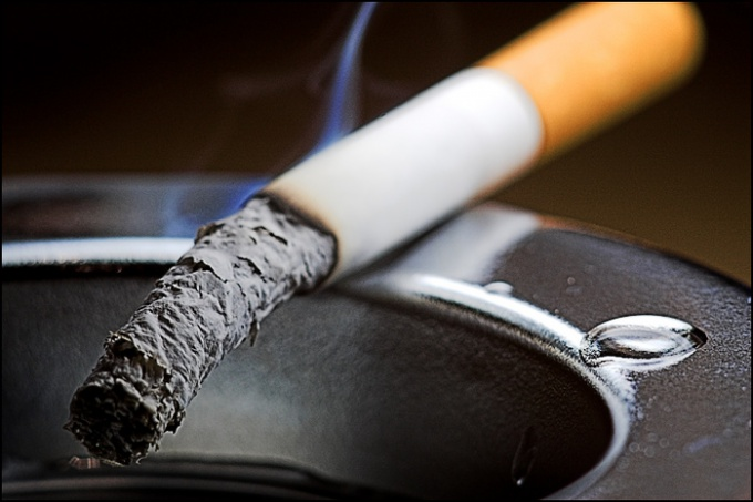 Избавьтесь от табачного запаха.