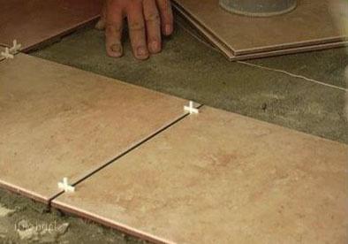 Как выровнять пол под <b>плитку</b>