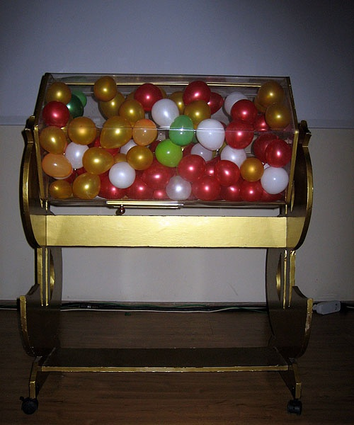 Как Бетономешалка груКак сделать барабан для лотереи
