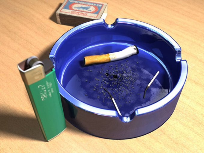 How to make an ashtray