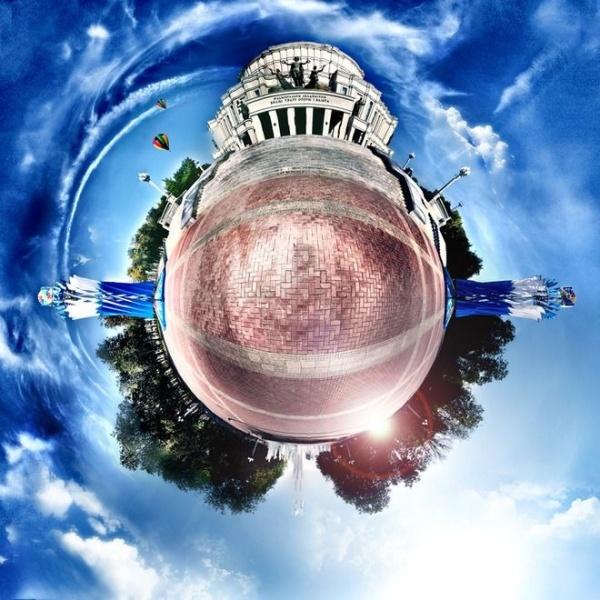 Как сделать сферическую панораму