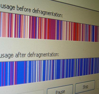 Как делать дефрагментацию диска