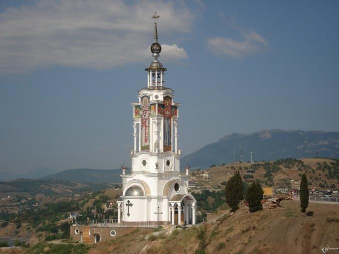 Православная часовня в Восточном Крыму