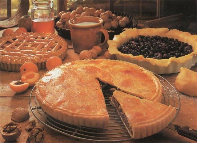 Как замесить тесто для пирога