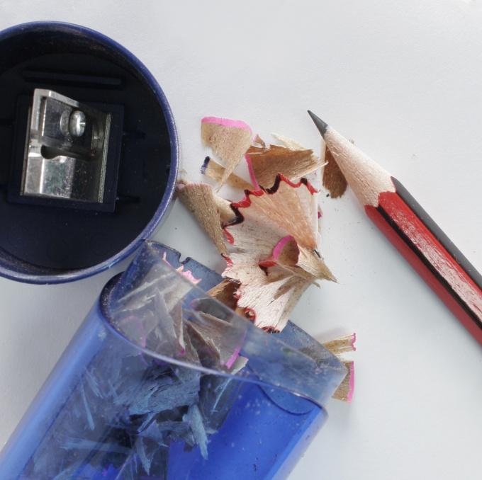 Как заточить карандаш