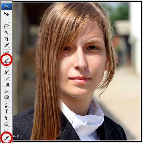Как удлинить волосы в фотошопе