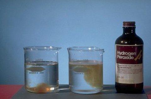Как использовать перекись водорода