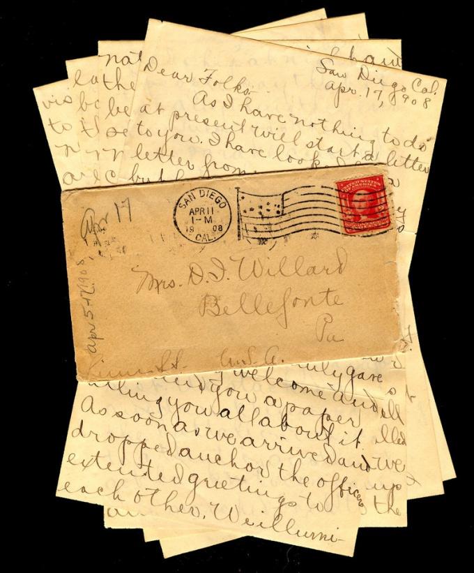Красиво украшенное письмо хочется хранить годами.