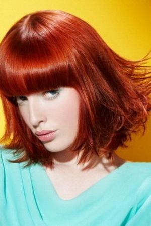 Как закрасить <b>рыжие</b> <strong>волосы</strong>