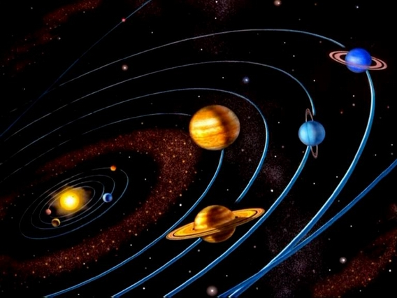 Как сделать  макет солнечной системы