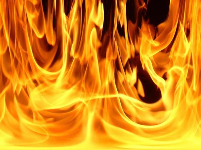 Как снимать огонь