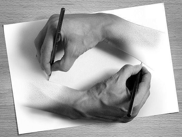 Как рисовать руки человека