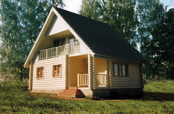 Готовый дачный домик.