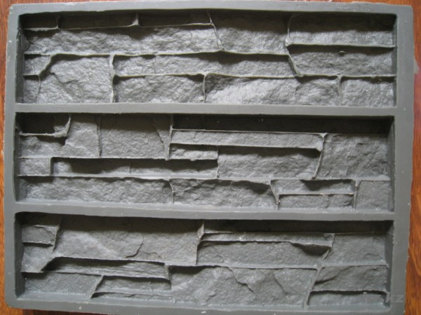Форма для изготовления декоративного камня своими руками
