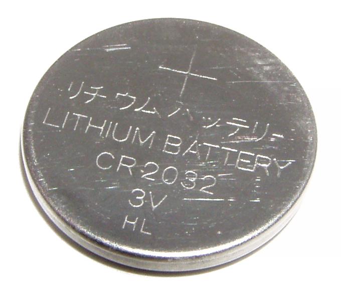 """Так выглядит типичная """"батарейка"""" к материнской плате."""