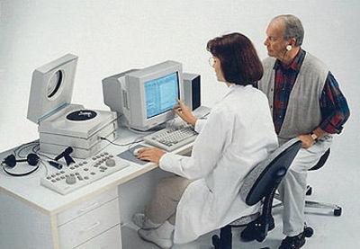 Обследование в больнице.