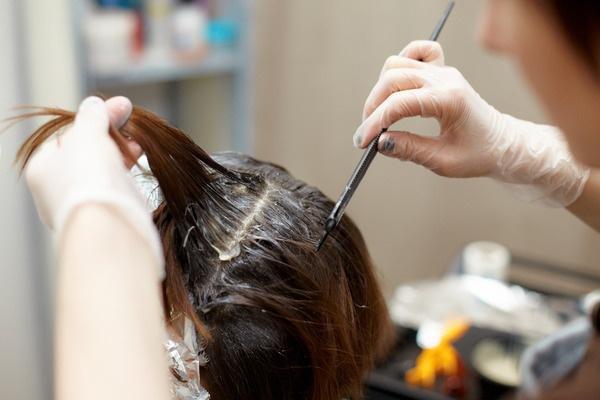 Окраска седых волос натуральными средствами