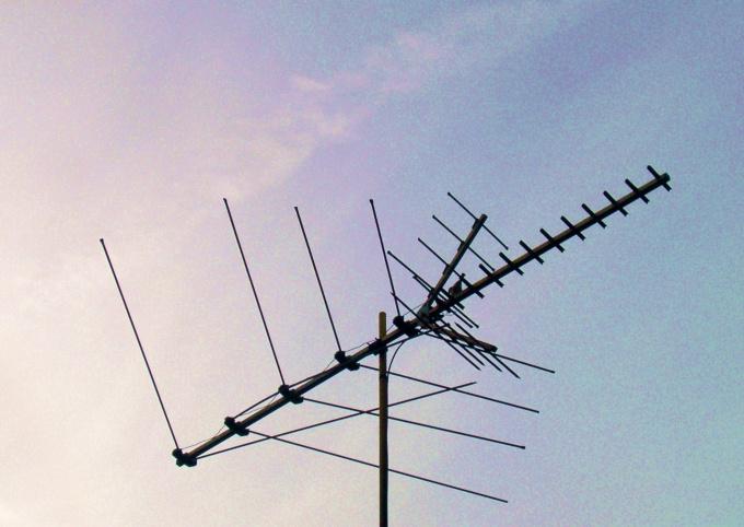 Направленная многодиапазонная антенна