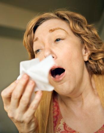 Как лечить чихание