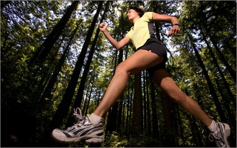 Бег - самый быстрый путь к здоровью.