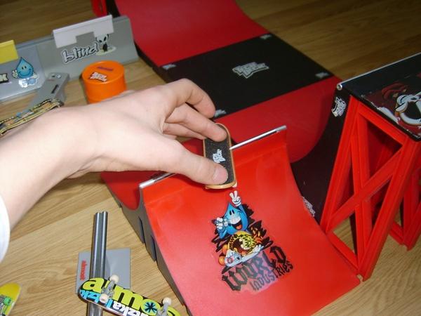 Как сделать рампу для фингерборда