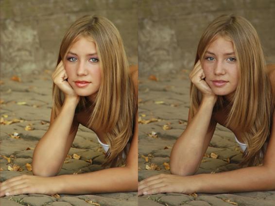 Как сделать свои фото светлее