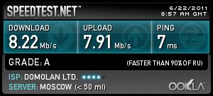 Как узнать <strong>скорость</strong> <b>интернета</b>