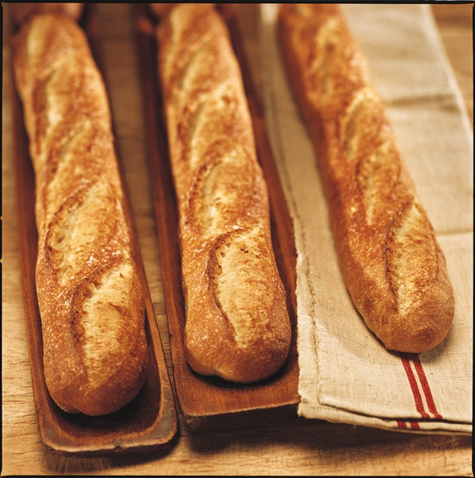 How to bake a baguette