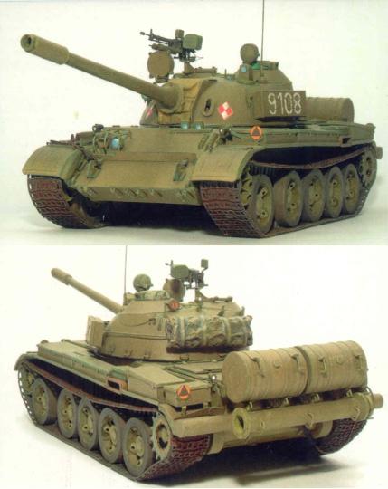 Трехмерная модель танка из бумаги