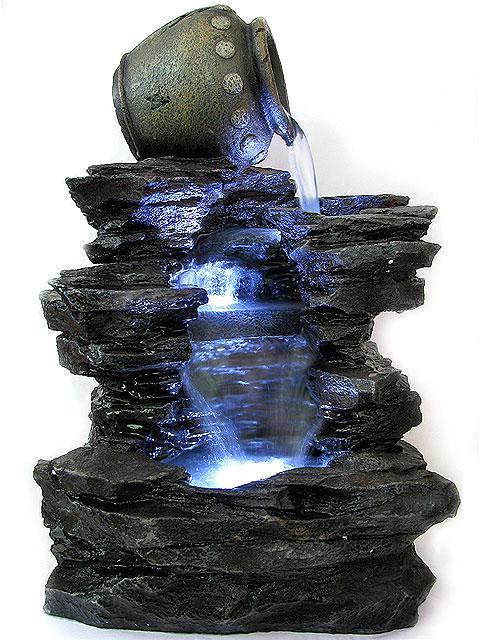 Как сделать мини-фонтан
