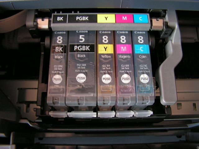 How to put ink in printer