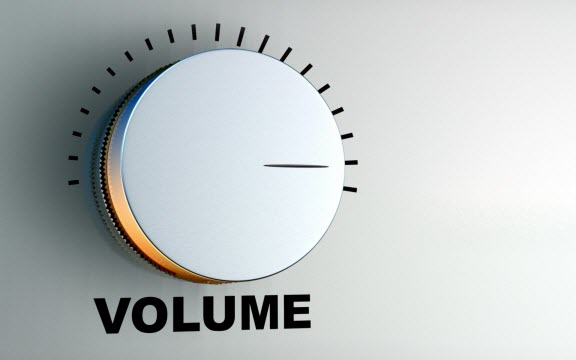 How increase volume iPhone