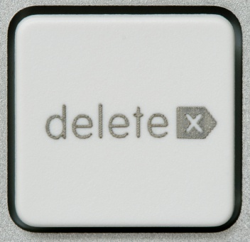 How to delete all information