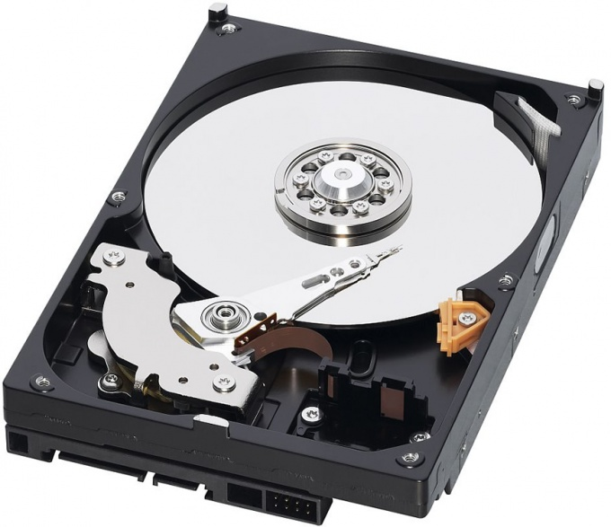 Как найти диск на 8