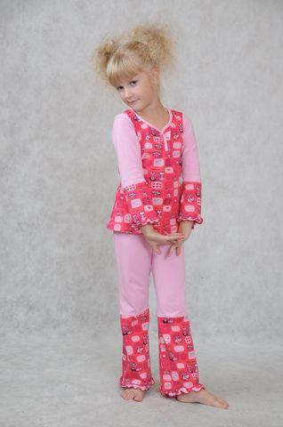 Как сшить детский пижама