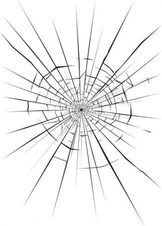 убрать трещину стекла