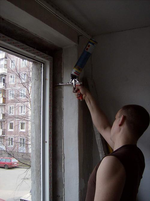 Как установить <strong>окно</strong> своими <b>руками</b>
