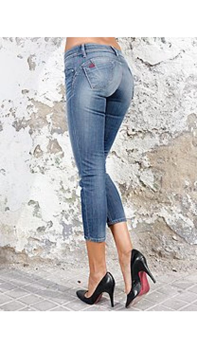 Как уменьшить джинсы