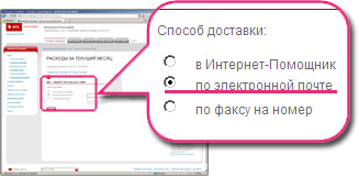 Способ доставки - по электронной почте