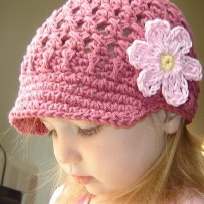 Как связать крючком шапку для ребенка