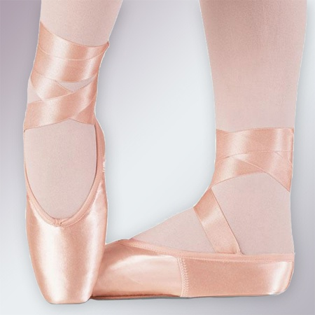 How to sew on ribbons to Pointe shoes